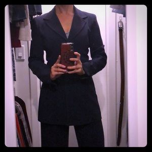 Navy Suit by Bebe (blazer & pants)